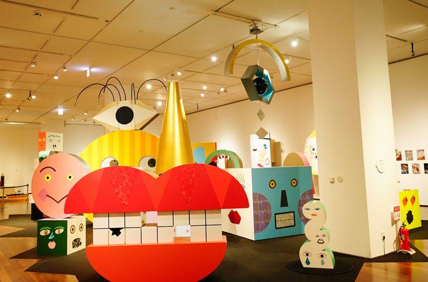 展覧会「tupera tupera のかおてん.」 ココロもカラダも動かして顔を遊びつくす。