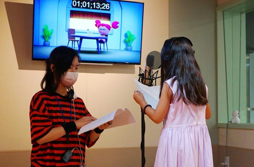 イベント「声優ワークショップ」 子どもたちが本格アフレコにチャレンジ!