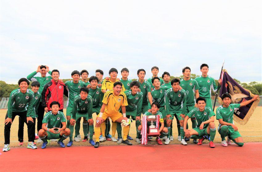 大阪体育大学が優勝。桃山大がびわこ大に勝利。関西学生サッカー最終節。