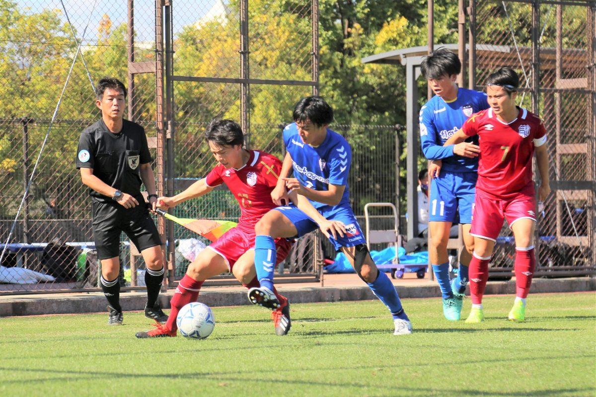 関学大vsびわこ大はドロー、立命大が3位浮上。関西学生サッカーリーグ後期第7節。