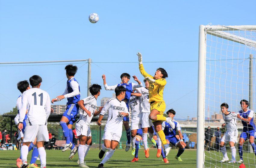 注目の大体大vs立命大はドロー、桃山大が関学大に勝利、甲南大4位浮上。関西学生サッカー後期第8節。