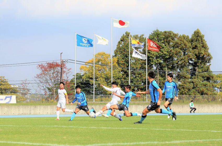 首位大体大に初黒星、2位びわこ大が勝点1差に迫る。関西学生サッカー第9節。